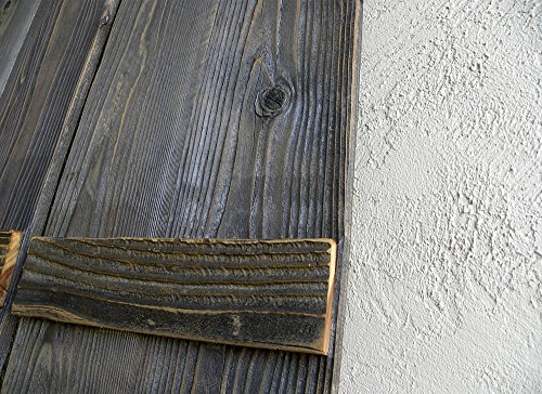 Rustic Reclaimed Wood Shutters (Set of 2). 30x11in by ABELO Design (Image #3)