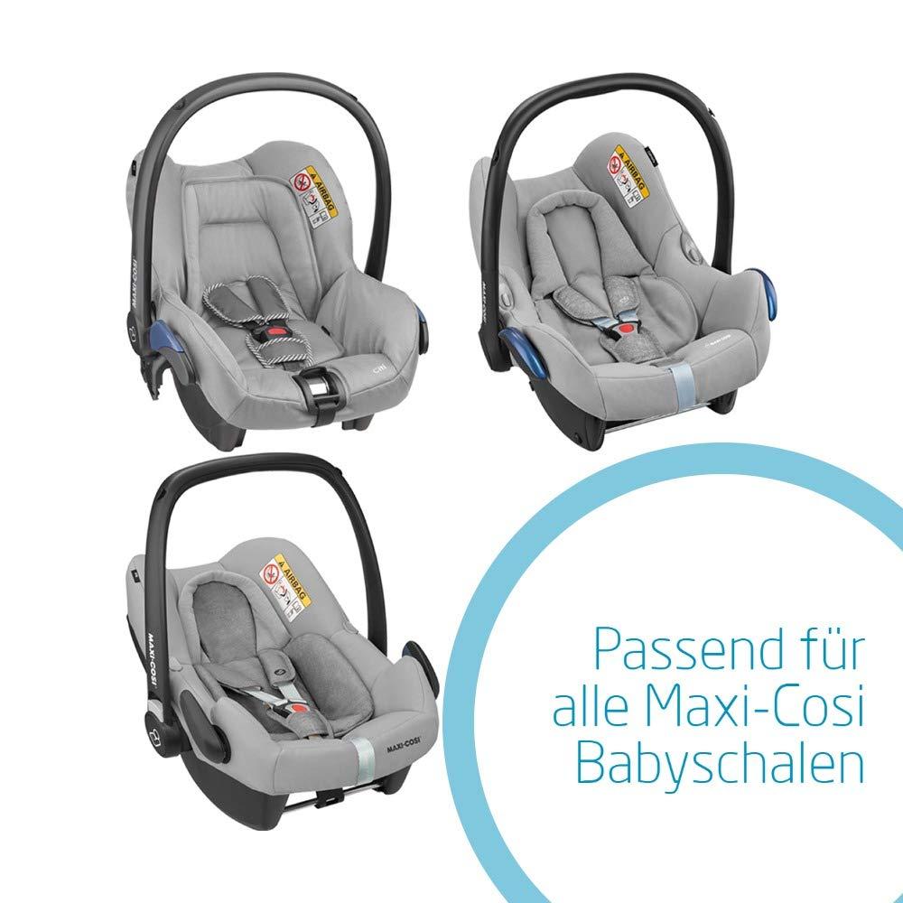 Maxi-Cosi kuschelig warmer Fu/ßsack black passend f/ür alle Babyschalen