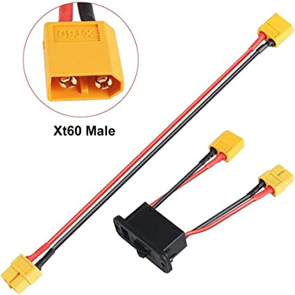 RC XT60 Connector Plug Heavy Duty High Current Switch Harness