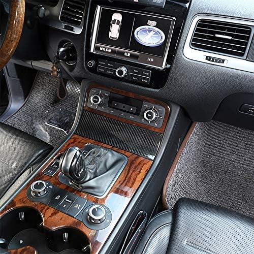 Voor VW Touareg 2011-2018, Koolstofvezel Centrale Console Opbergdoos Decoratie Cover Trim Auto Accessoires