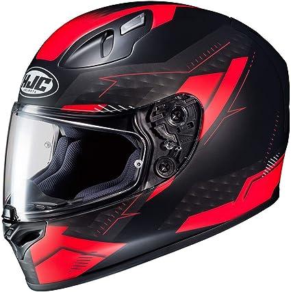 Amazon.es: Casco de moto HJC FG-17 TALOS MC1SF, Negro/Rojo, XL