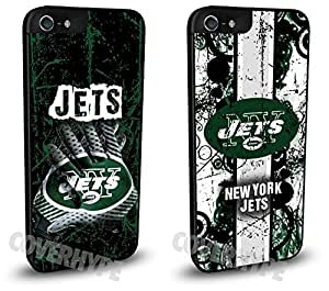 New York Jets Cell Phone Hard Case TWO PACK for iPhone 5c