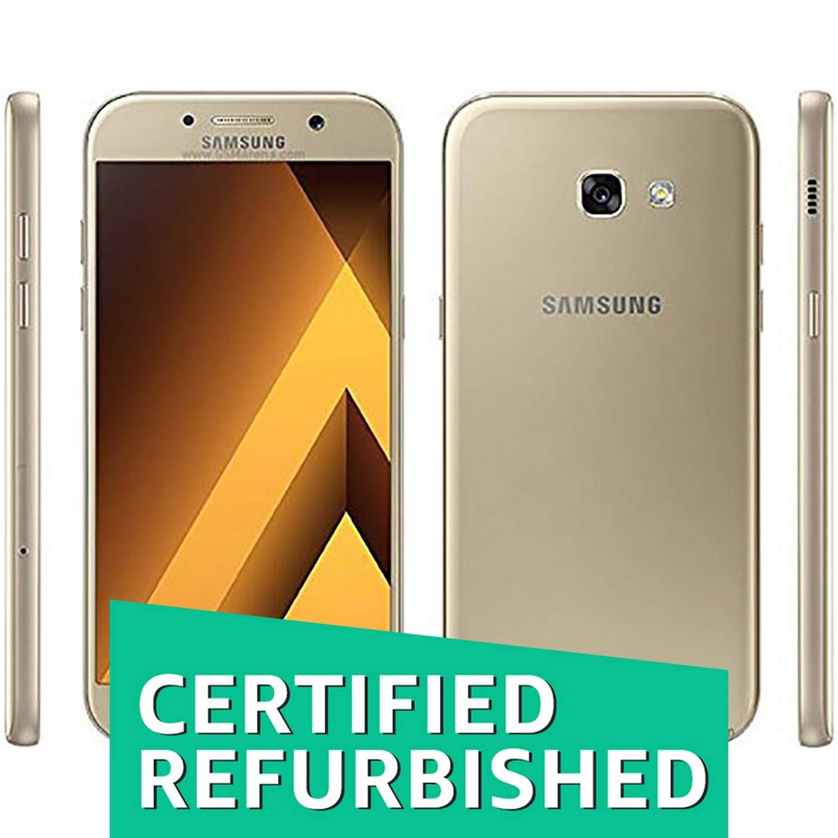 (Certified REFURBISHED) Samsung Galaxy A5 2017 A520 (Gold Sa