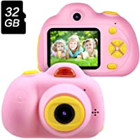 Gifts for 3 4 5 6 Year Old Girls,OMWay Kids Camera for Girls, Outdoor Toys for 5 6 7 8 Year Old Toddlers Children,8MP HD…