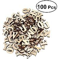 100 letras del alfabeto, de Outflower, de madera