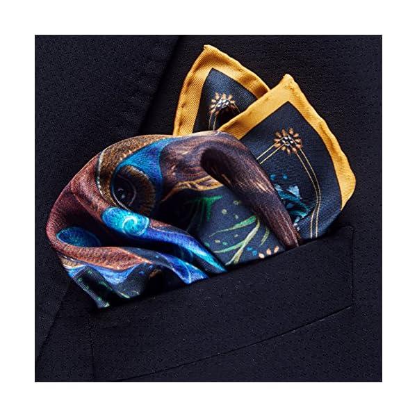 R-Culturi-Made-in-Italy-Original-Artwork-Fine-Silk-Pocket-Square-BlackGold