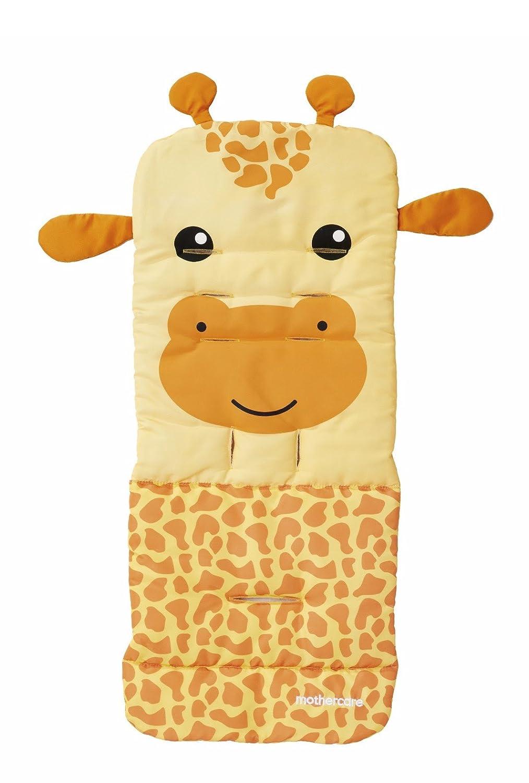 Genuine Mothercare impermeable universal carrito de bebé asiento maletero - amarillo y naranja jirafa - Verano cochecito: Amazon.es: Bebé