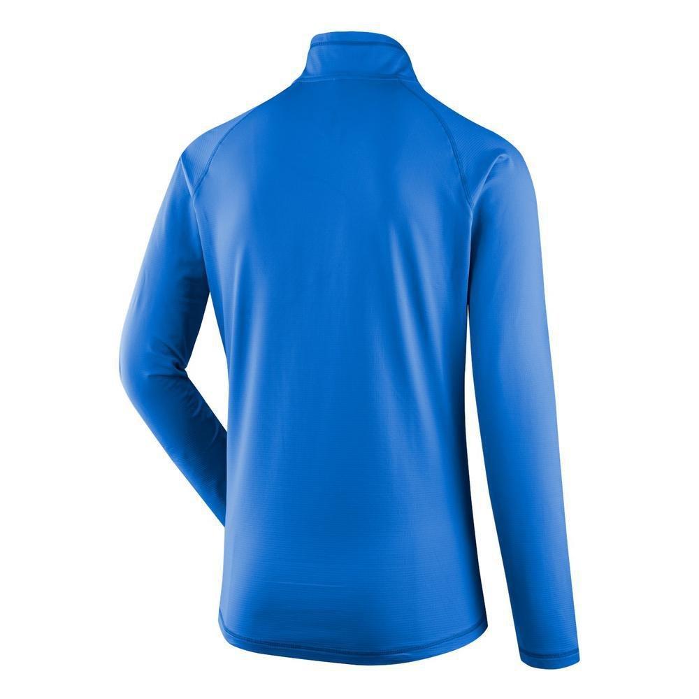 SALEWA Ortles Cubic Pl M L/S tee tee tee Camiseta Interior, Hombre, Gris (Quiet Shade), 46/S 1e2d97