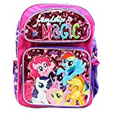 My Little Pony: Friendship is Magic Pink and Purple Full Size Backpack (16in)