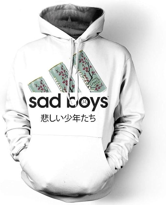 : 3D Hoodie Sweatshirt Sad Boys Love Arizona Tea