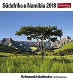 Südafrika & Namibia - Kalender 2018: Sehnsuchtskalender, 53 Postkarten
