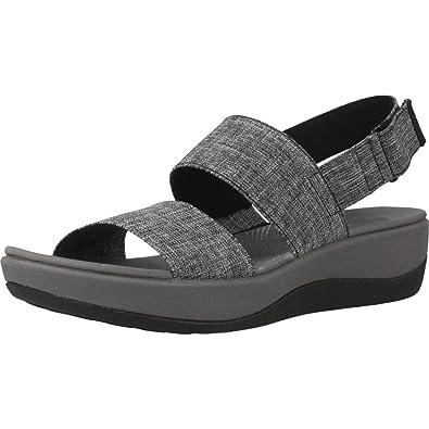 04320659817c0 Clarks Women's Arla Jacory White Leather Fashion Sandals - 5.5 UK/India (39  EU