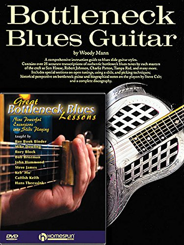 Bottleneck Guitar Pack: Bottleneck Blues Guitar (Book) with Great Bottleneck Blues Lessons (DVD)
