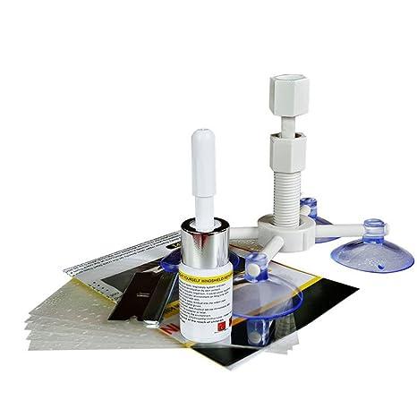 herramientas de reparación para Windows de parabrisas kit de reparación para parabrisas reparación antiarañazos Cremallera para