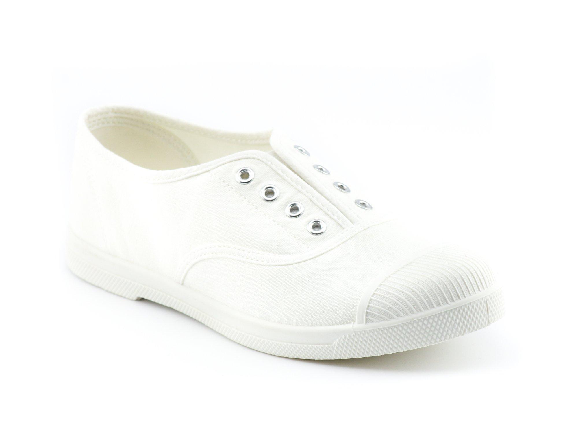CALICO KIKI JACY-CK01 Women's Canvas Sneakers Flats (8 US White)