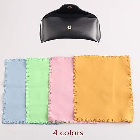 AHAHA 2 Paquetes Fundas de Gafas de Sol Estuche Para Gafas con Paño de Limpieza