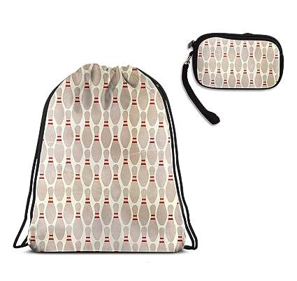 Amazon.com: Bolso de regalo con cordón para el gimnasio ...