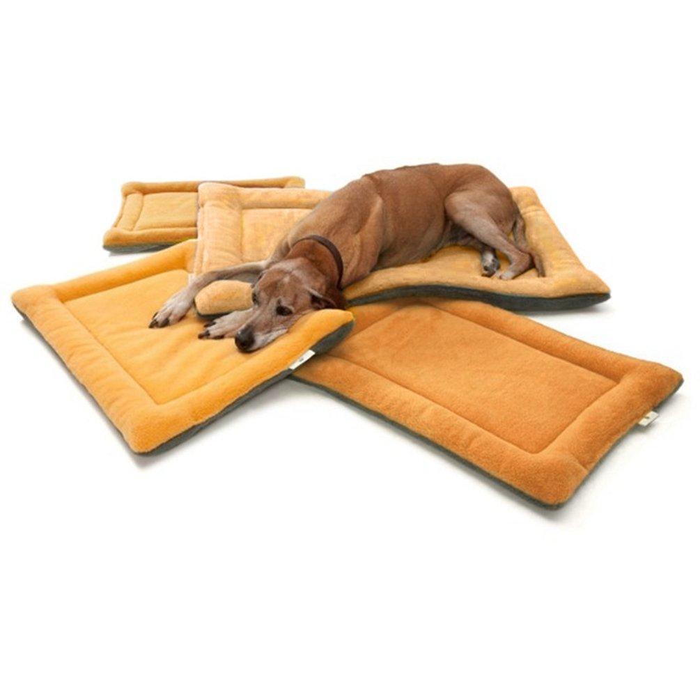 YiJee Caliente Estera de Cojín para Mascotas Suave Acogedor Colchon Perros y Gatos Vino Rojo XL: Amazon.es: Hogar