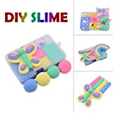 Onegirl Beautiful 4-Color Mixing Slime Mud with