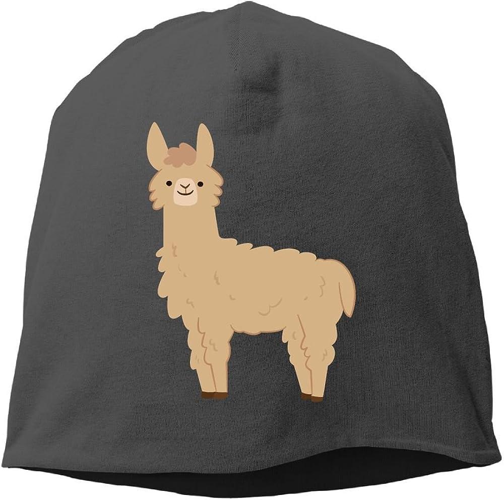 Janeither Headscarf Alpaca Alpacas Hip-Hop Knitted Hat for Mens Womens Fashion Beanie Cap