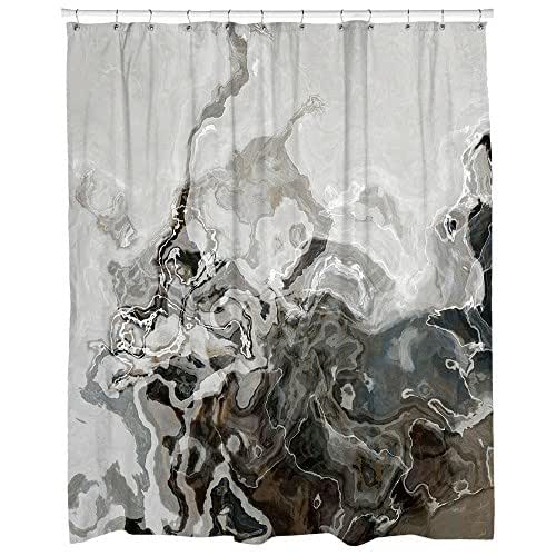 Amazon.com: Decorative contemporary shower curtain in