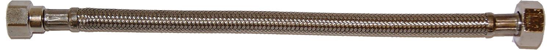 Schell 103180699 Flexibler Schlauch Clean-Flex S 3/8 Zoll x 1/2 Zoll Überwurfmutter, ø 300 mm, chrom