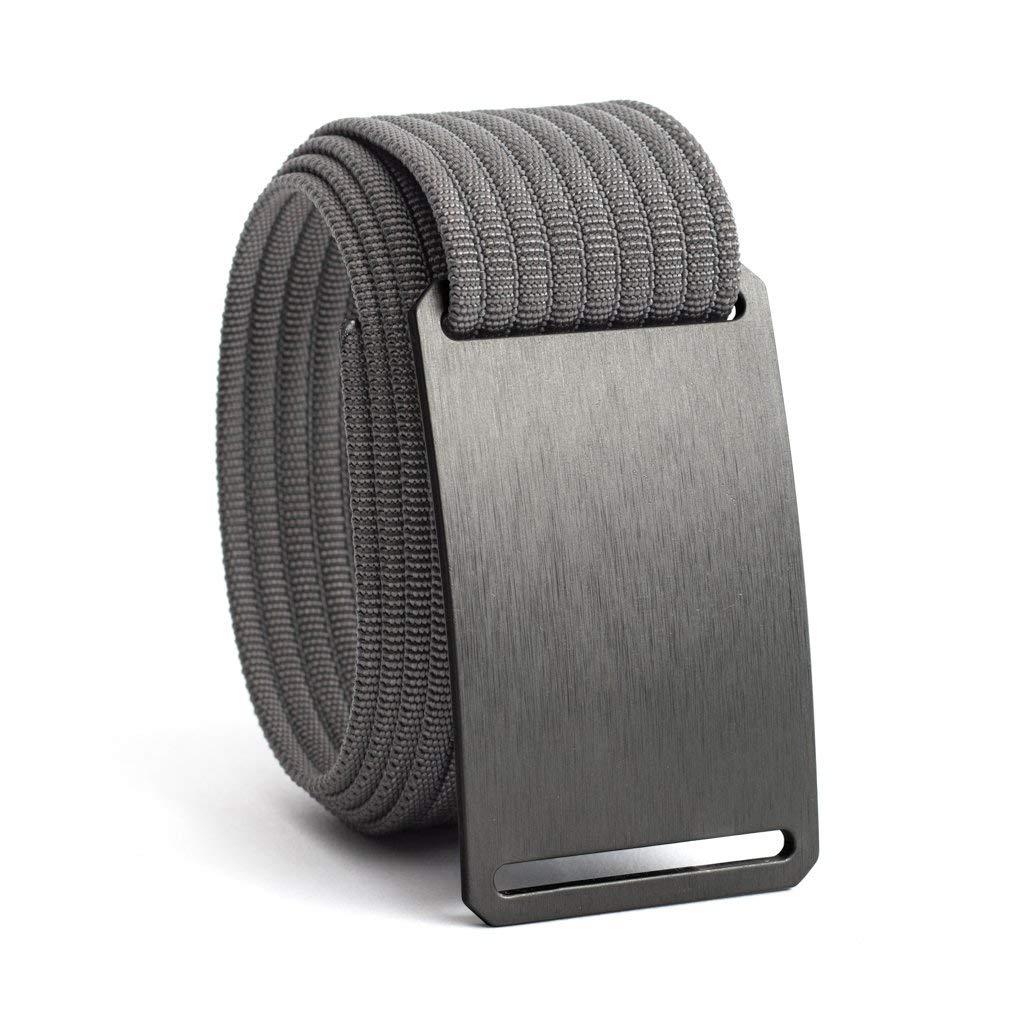 Men's Web Belt GRIP6 (40in Gunmetal w/Grey Strap)