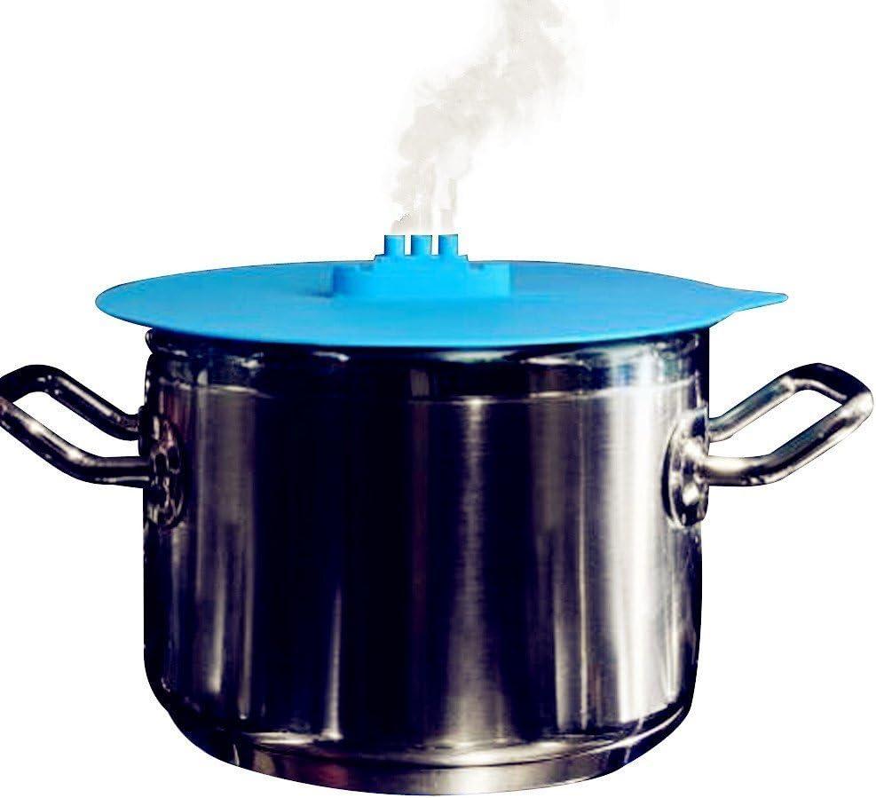 Buque de vapor vzer tapa de silicona para cocinar al vapor olla de ...