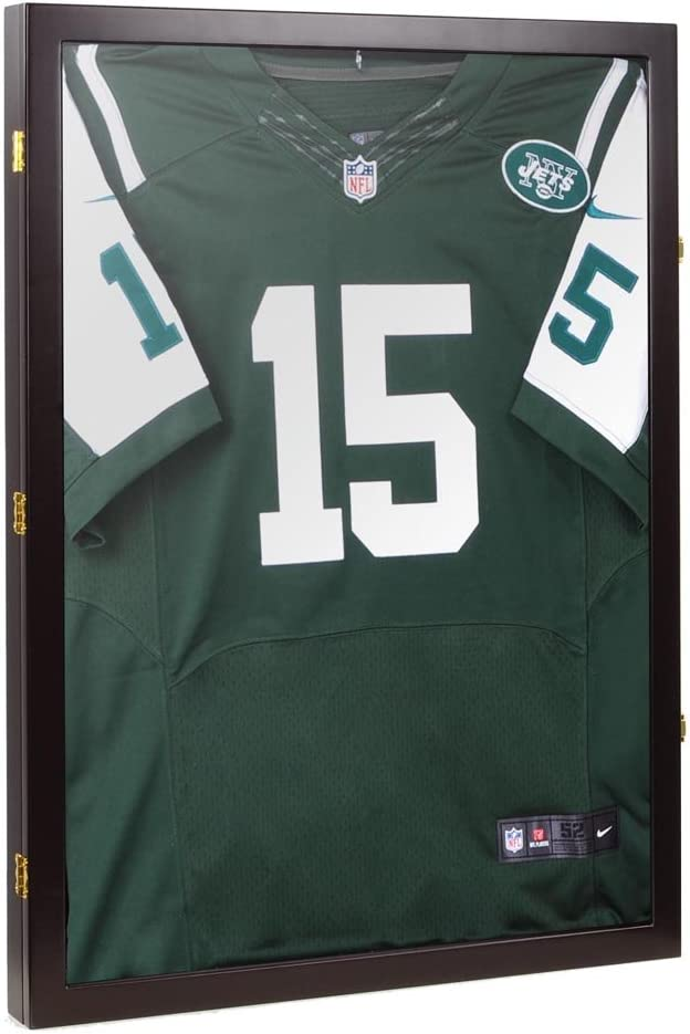 Yeshom Basketball Football Baseball Cloth Jersey XL Display Case Shadow Box 98/% UV Protection