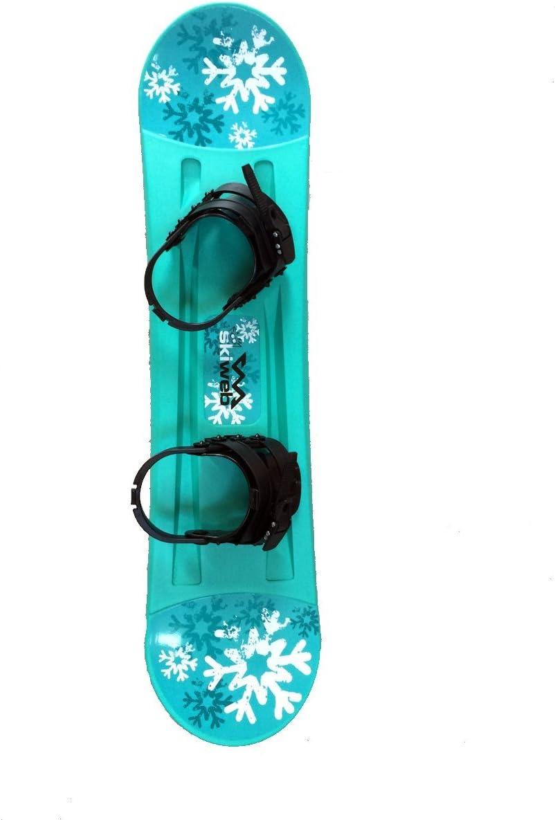 Skiweb Kids Plastic Starter Snowboard & Bindings