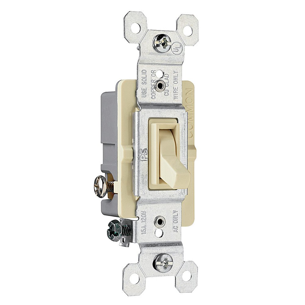 Legrand-Pass /& Seymour 663IGCP TradeMaster Grounding Toggle Switch Ivory