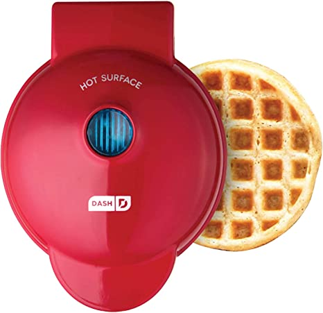 Hash Browns other Mini waffle Dash DMWGS001RD Machine for Individual Paninis