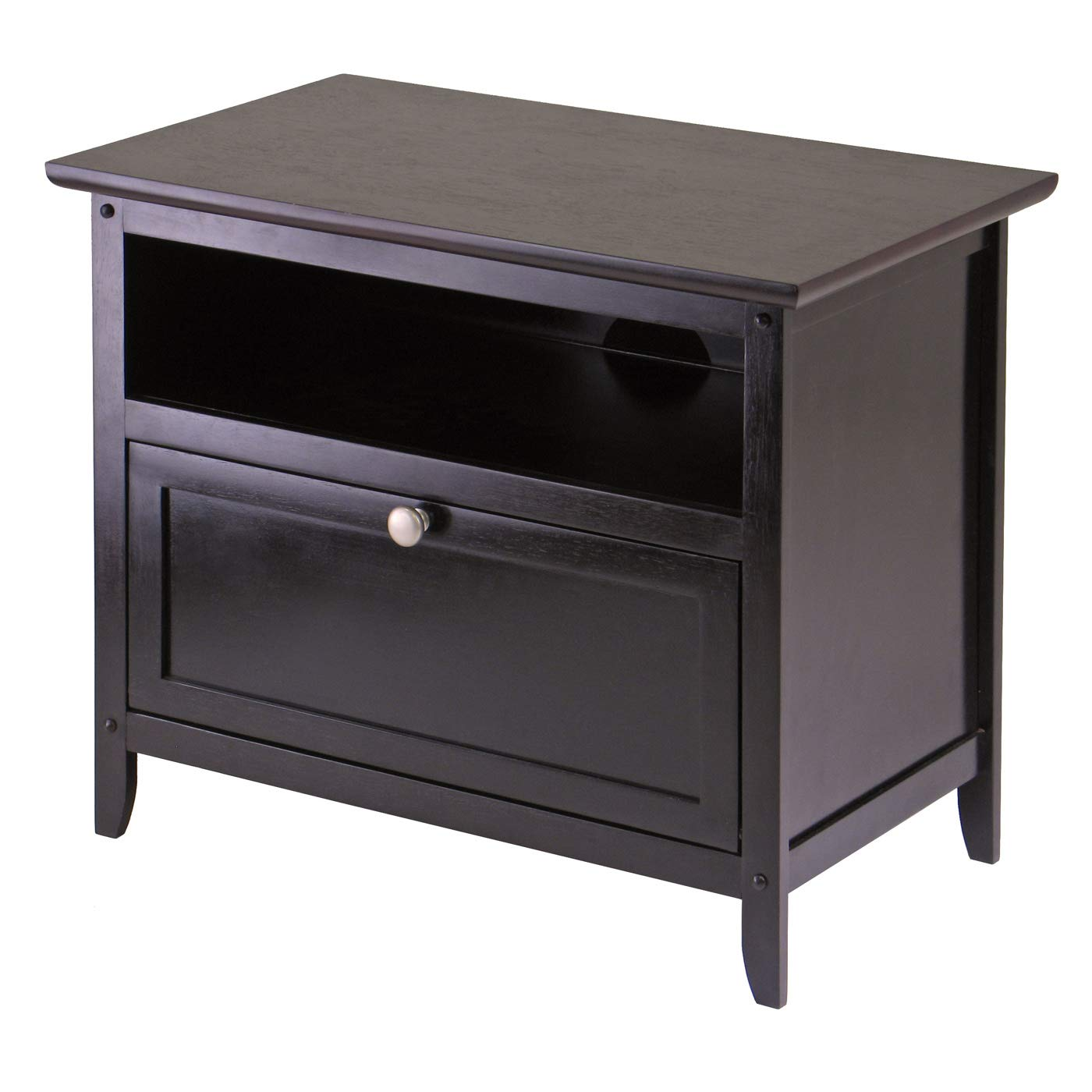 Winsome Wood 92125 Zara Media/Entertainment, Espresso by Winsome Wood