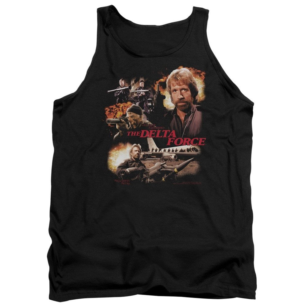 Delta Force Action Pack Adult Tank Top