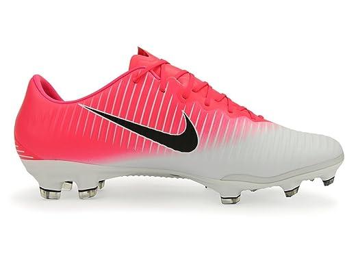 Nike Mens Mercurial Vapor Xi Fg Racer Pink Black White Soccer Shoes  9A