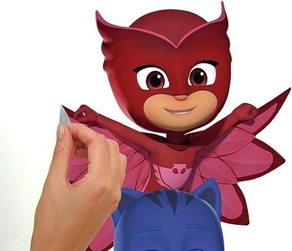 RoomMates PJ Masks Superheroes Peel and Stick ...