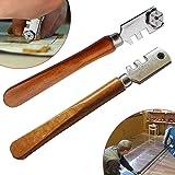 High Quality Tipped Glass Cutter 10 Wheel Case Mirror Cutting//Score//Slice//Cut