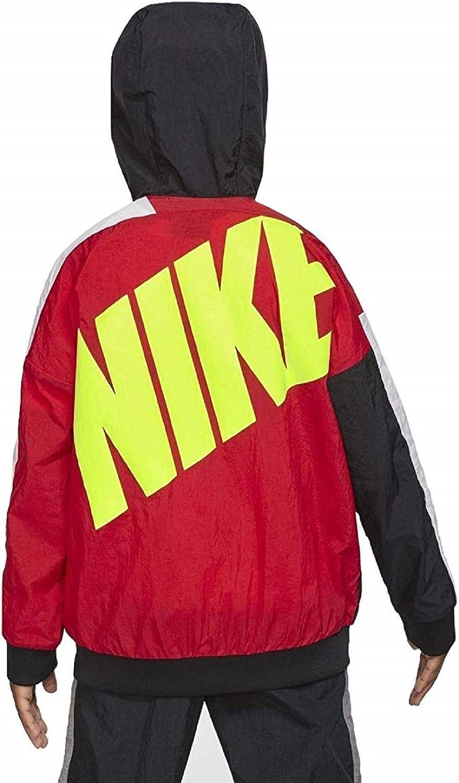 Windrunner Jacket (University Red/Black