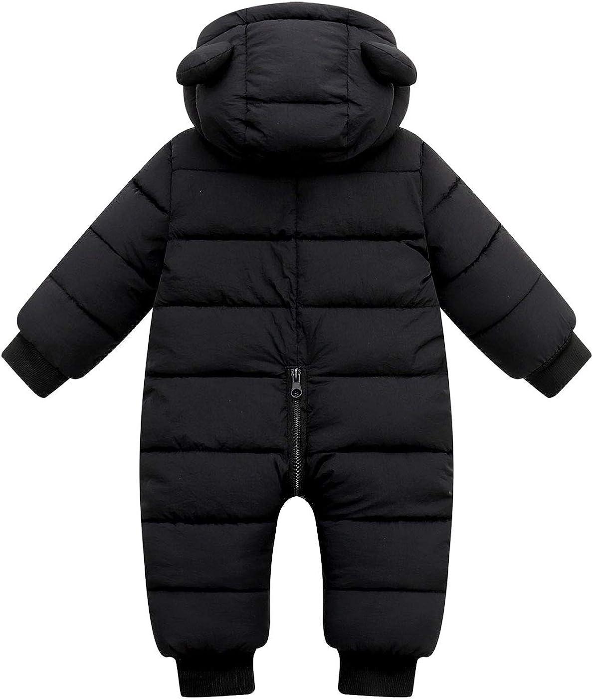 con cappuccio AUBIG Pigiama invernale per bambini per bambini da 0 a 12 mesi