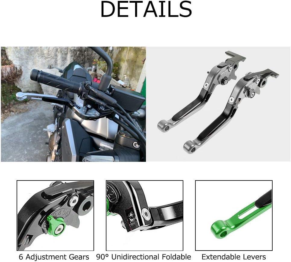 Moto leviers de frein et dembrayage pliables extensibles pour CBR650F 2014-2018 CB650F 2014-2018 NC750S 2016-2017 NC750X 2016-2017