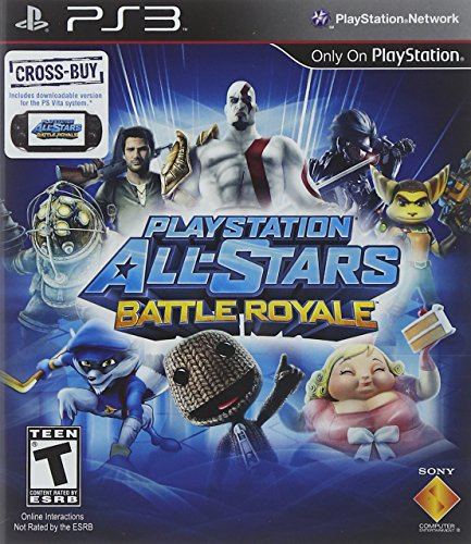 PlayStation All-Stars Battle Royale (Games Fighting Ps3)