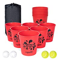 ROPODA Yard Pong - Giant Pong Game Set Outdoor for The Beach, Camping, Lawn and Backyard