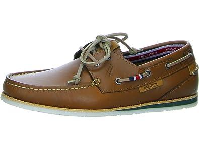 Daniel Hechter 821489011200-6300, Chaussures Bateau Pour Homme - Marron - Mittel-Braun, 43 EU