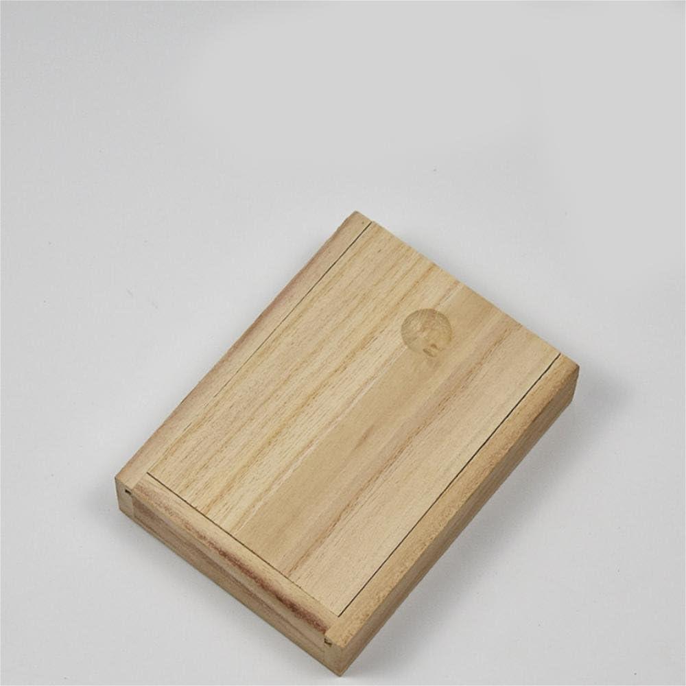 HZZymj-Caja de madera rectangular larga caja de paulonia: Amazon ...