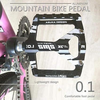 Paire Pedale Velo VTT BMX Alliage Aluminium  9//16 Pouce Antiderapant Universelle