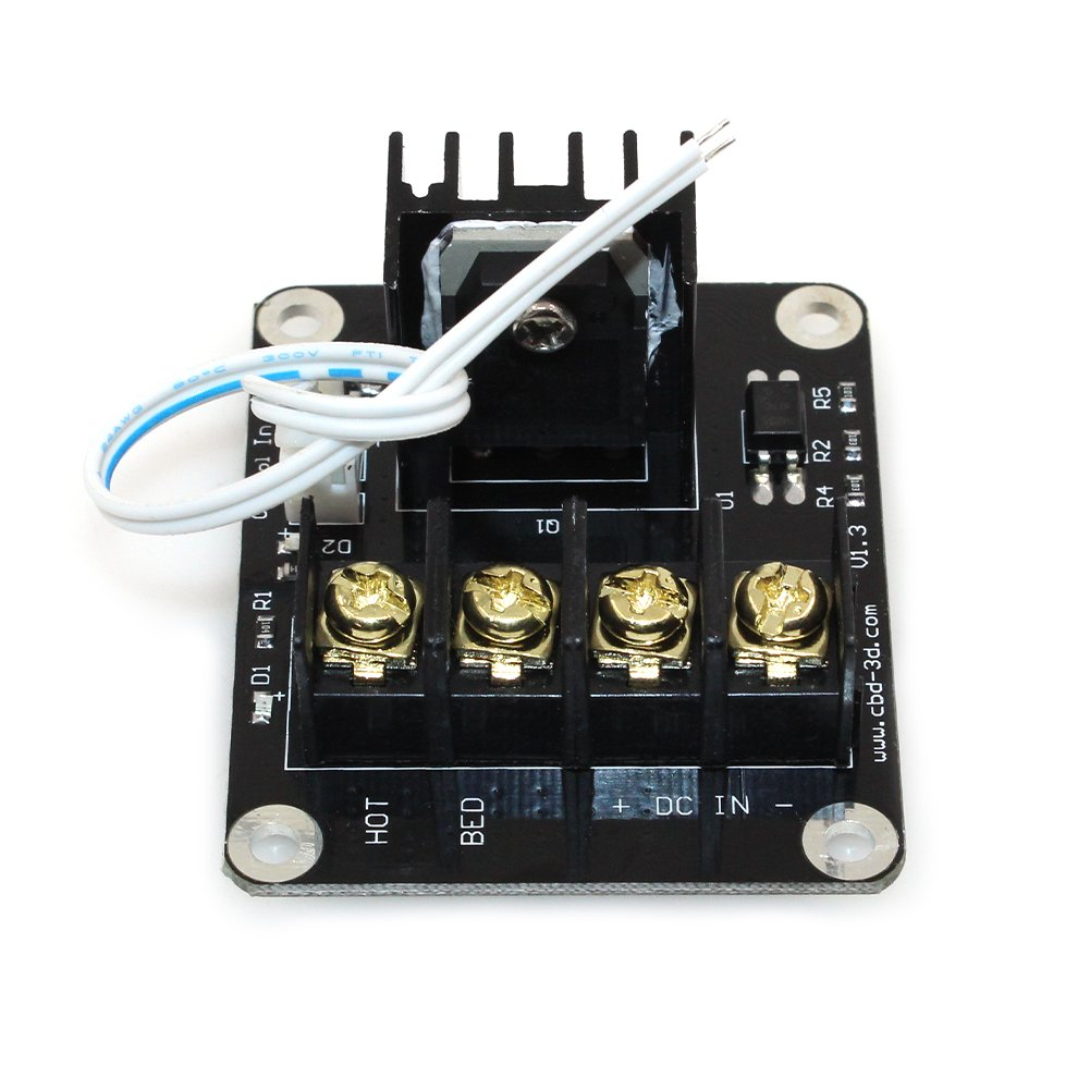 61TpKq3pcXL._SL1001_ amazon com biqu heat bed power module expansion hot bed mos tube  at crackthecode.co
