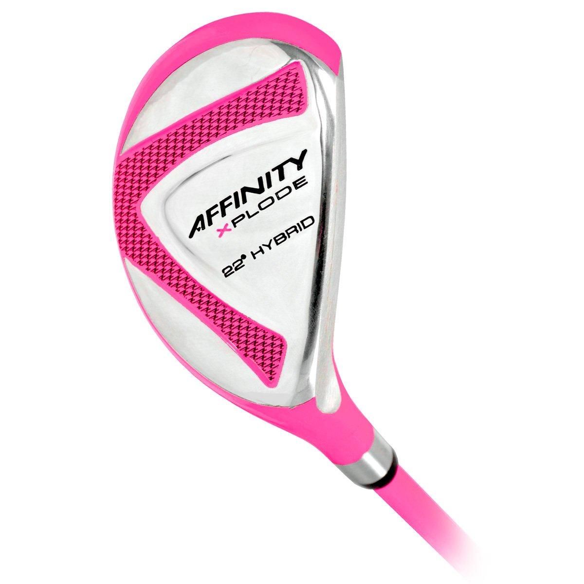 Affinity golf- Ladies Xplodeハイブリッド ピンク B00NSCFNJU