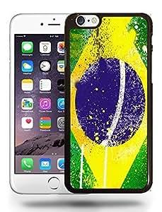 Brazil Brazilian Brasil Pride Flag Retro Vintage Style Phone Case Cover Designs for iPhone 6 Plus