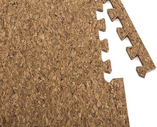 Dooboe Interlocking Foam Mats Cork Flooring Puzzle Floor Mat