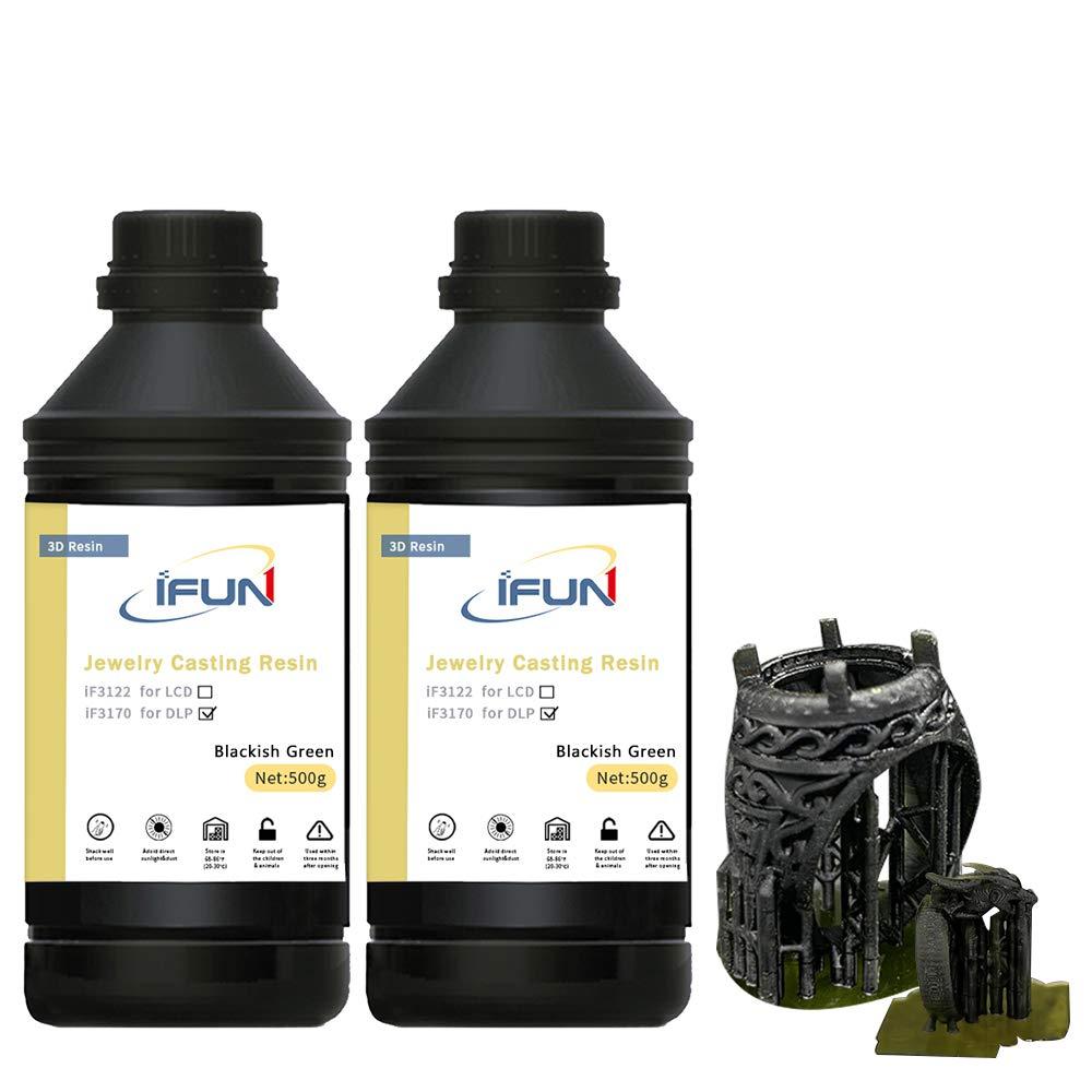 IFUN Jewelry - Resina de fundición para impresora 3D DLP, cera ...